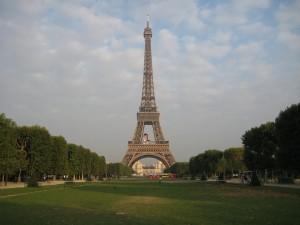 Ms Farrell in Paris