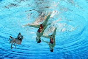 Olympics Synchronised Swimming octopus