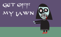 Get Off My Lawn zombie