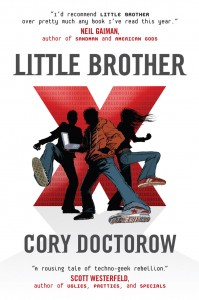 Little Brother book cover by Cory Doctorow