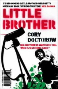 Little Brother by Cory Doctorow - UK book cover
